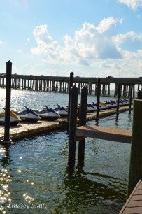 boats and harborwalk